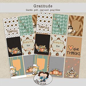 SoMa Design: Gratitude - Cards