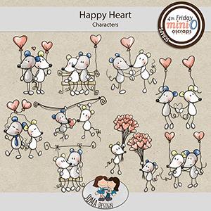 SoMa Design: Happy Heart - MiniO - Characters