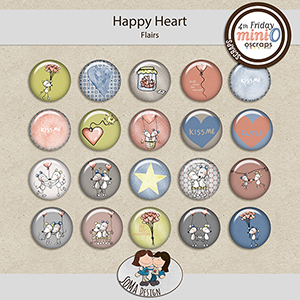 SoMa Design: Happy Heart - MiniO - Flairs