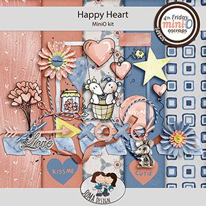 SoMa Design: Happy Heart - MiniO - Kit