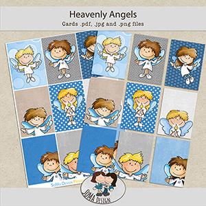 SoMa Design: Heavenly Angels - Cards