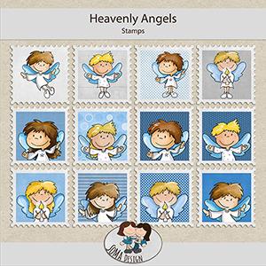 SoMa Design: Heavenly Angels - Stamps