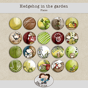 SoMa Design Hedgehog In The Garden Flairs