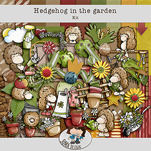 SoMa Design Hedgehog In The Garden Kit
