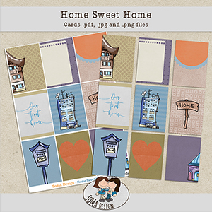 SoMa Design: Home Sweet Home - Cards