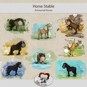 SoMa Design: HorseStable - ArtJournal - Horses
