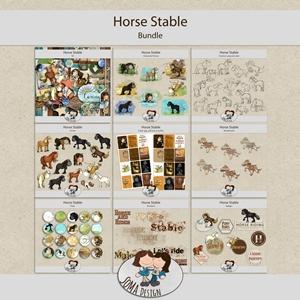 SoMa Design: Horse Stable - Bundle