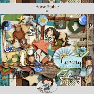 SoMa Design: Horse Stable - Kit