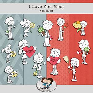 SoMa Design I Love You Mom AddOn