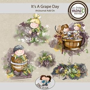SoMa Design: It's A Grape Day - ArtJournal - AddOn