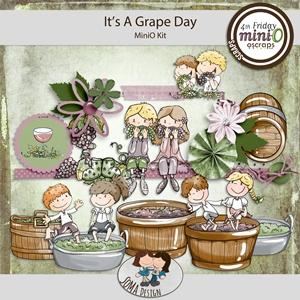 SoMa Design: It's A Grape Day - MiniO - Kit