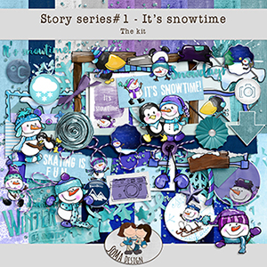 SoMa Design: It's snowtime - Kit - Story Series #1