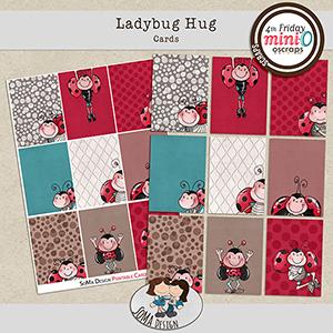 SoMa Design Ladybug Hug Cards