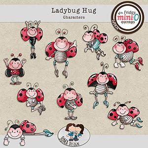 SoMa Design Ladybug Hug Characters