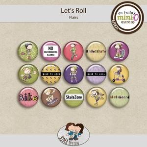 SoMa Design: Let's Roll - MiniO - Flairs