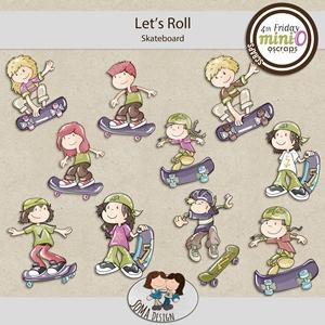 Soma Design: Let's Roll - MiniO - Skateboard
