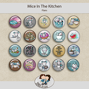 SoMa Design: Mice In The Kitchen - Flairs