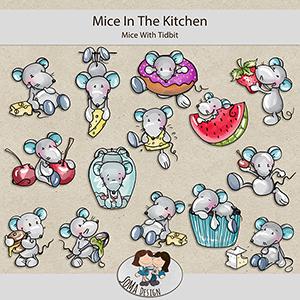SoMa Design: Mice In The Kitchen - Mice With Tidbits