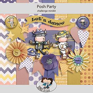 SoMa Design: Posh Party - Challenge Mini