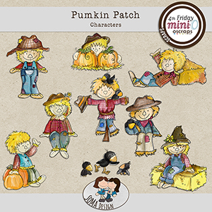 SoMa Design: Pumpkin Patch - Characters