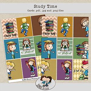 SoMa Design: Study Time - Cards