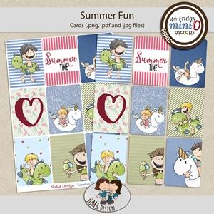 SoMaDesign: Summer Fun - Cards