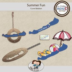 SoMaDesign: Summer Fun - I Love Balaton