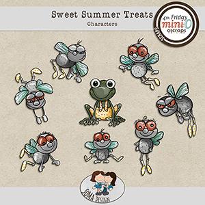 SoMa Design: Sweet Summer Treats - Characters