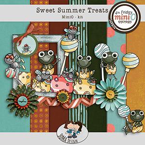 SoMa Design: Sweet Summer Treats MiniO kit