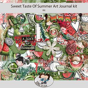SoMa Design: Sweet Taste Of Summer - Art Journal Kit