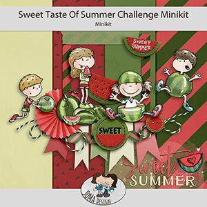 SoMa Design: Sweet Taste Of Summer - Challenge Minikit
