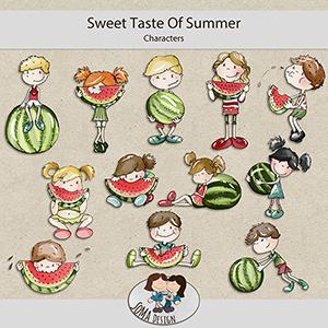 SoMa Design: Sweet Taste Of Summer - Characters