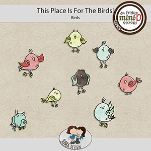 SoMa Design: This Place Is For The Birds - MiniO - Birds