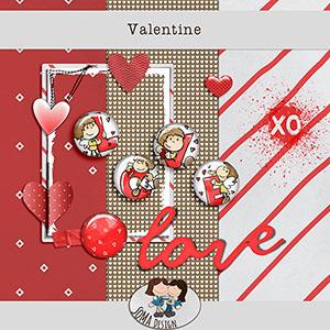 SoMaDesign Valentine Freebie