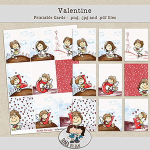 SoMaDesign Valentine Cards