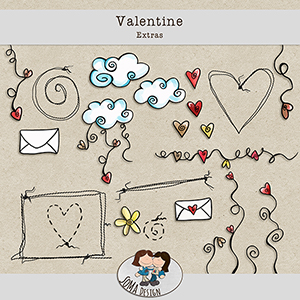 SoMaDesign Valentine Extras