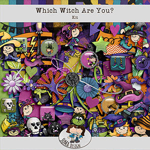SoMa Design: Which Witch Are You? - Kit