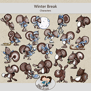 SoMa Design: Winter Break - Characters