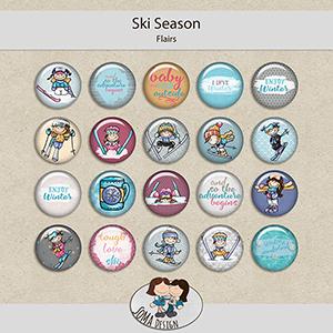 SoMa Design: Ski Season - Flairs
