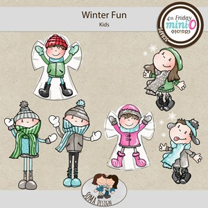 SoMa Design: Winter Fun - MiniO - Kids