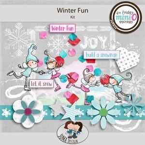 SoMa Design: Winter Fun - MiniO - Kit
