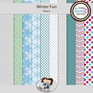 SoMa Design: Winter Fun - MiniO - Papers