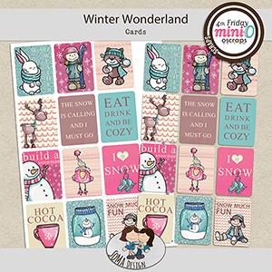SoMa Design: Winter Wonderland - MiniO - Cards