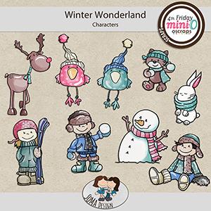 SoMa Design: Winter Wonderland - MiniO - Characters