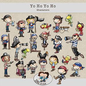 SoMa Design: Yo Ho Yo Ho - Characters