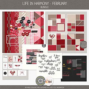 Life In Harmony - February {Bundle}