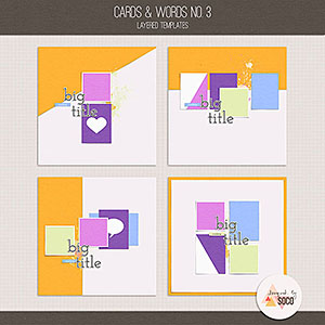 Cards & Words No. 3