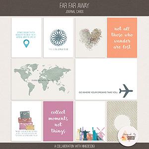 Far Far Away | Journal Cards
