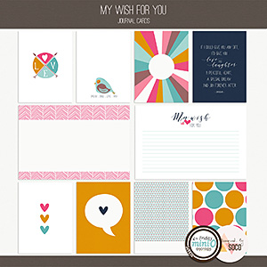 My Wish For You - Journal Cards