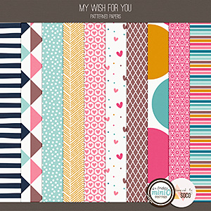 My Wish For You - Patterned Papers